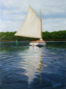 Sandi catboat 9x12